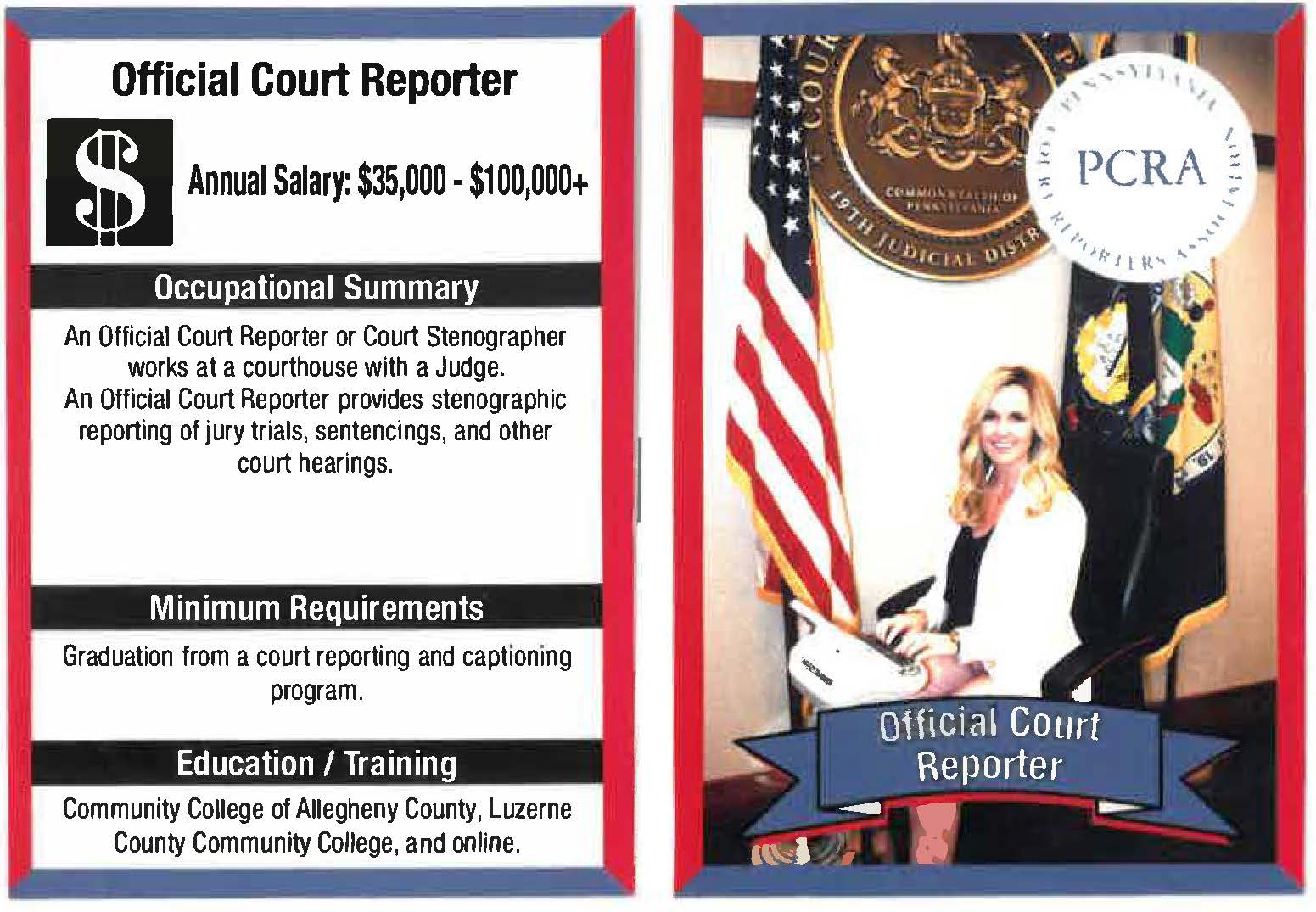Careers in Court Reporting